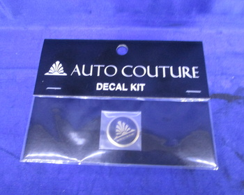 Autocouture - Haute Couture decal Kit Circle Emblem