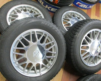 "Nissan - Nissan Genuine /BS16"" Studless 4 Pieces Set"
